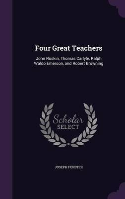 Four Great Teachers by Joseph Forster image