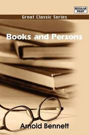 Books and Persons by Arnold Bennett image