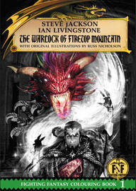 The Warlock of Firetop Mountain Colouring Book by Steve Jackson
