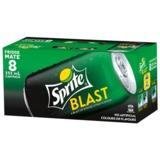 Sprite Blast Soft Drink Cans - 8 Pack (355ml)