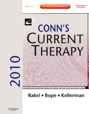 Conn's Current Therapy: Expert Consult - Online and Print: 2010 by Edward T. Bope image