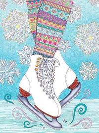Hello Angel Lined Journal Skates by Angelea Van Dam