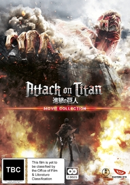 Attack On Titan - Movie Collection on DVD