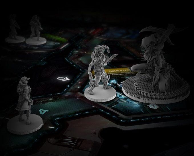 Nemesis - Board Game image