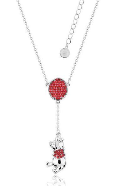 Couture Kingdom: Disney Winnie the Pooh Balloon Necklace - Silver