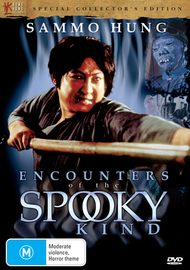 Encounters Of The Spooky Kind on DVD image