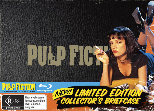 Pulp Fiction - 15th Anniversary Collector's Edition: Limited Edition Collector's Briefcase on Blu-ray