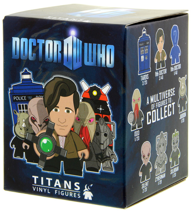 Doctor Who Titans 3″ Vinyl Mini Figure - Series 1 (Blind Boxed)