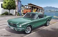 Revell 1:25 1965 Ford Mustang 2+2 Fastback Plastic Model Kit
