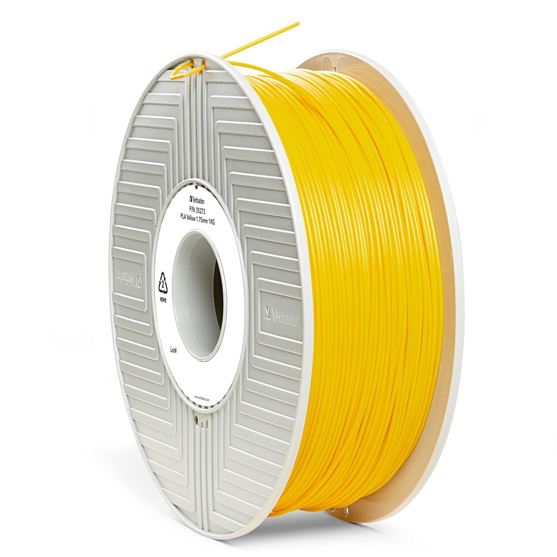 Verbatim 3D Printer PLA 1.75mm Filament - 1kg (Yellow) image