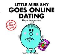 Little Miss Shy Goes Online Dating by Roger Hargreaves image