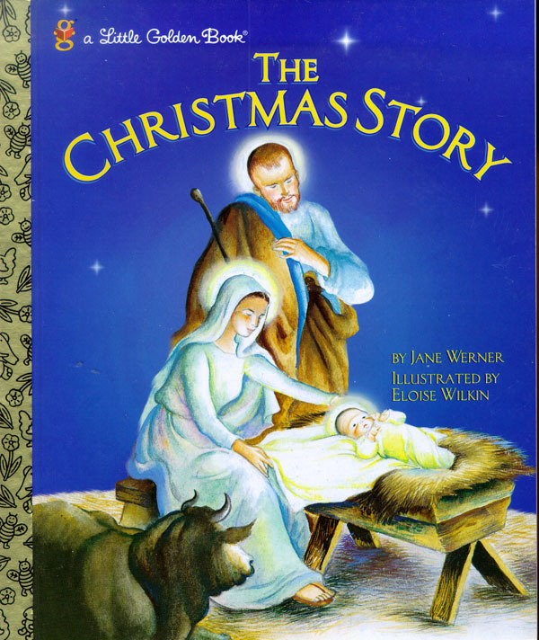 Lgb:Christmas Story by Jane Werner Watson image
