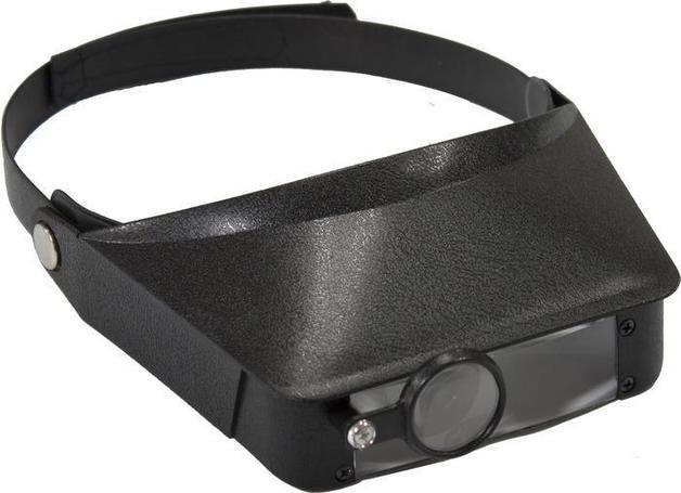 Excel Deluxe Magna Visor: Black