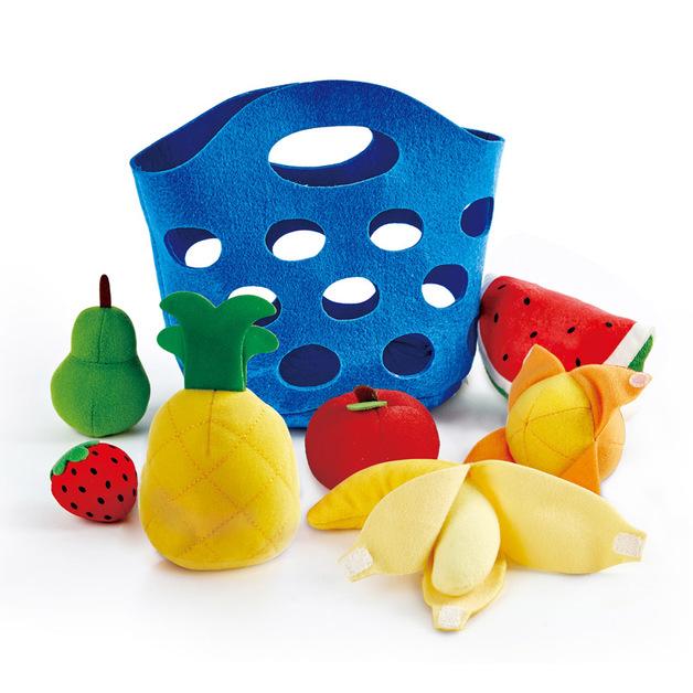Hape: Toddler Fruit Basket - Roleplay Set