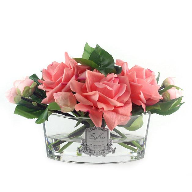 Cote Noire: Rose Bouquet Fragrance Diffuser - Peach