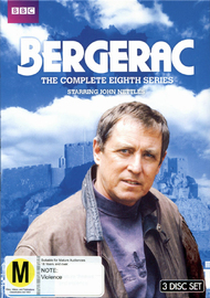 Bergerac - The Complete Eighth Series on DVD