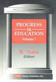 Progress in Education, Volume 7 image