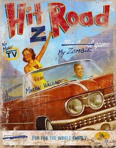 Hit Z Road - Board Game