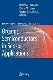Organic Semiconductors in Sensor Applications