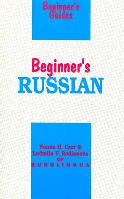 Beginner's Russian by Nonna H. Carr image