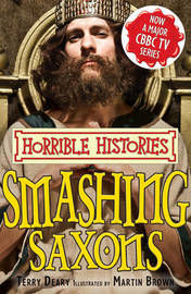 Smashing Saxons by Terry Deary image