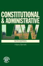 Constitutional and Administrative Law by Hilaire A. Barnett image