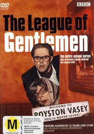 The League Of Gentlemen - Series 2 (2 Disc Set) on DVD image