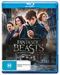 Fantastic Beasts and Where to Find Them on Blu-ray image