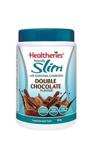 Healtheries Naturally Slim Meal Replacement - Double Chocolate (500g) image