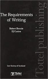 The Requirements of Writing by Robert Rennie image
