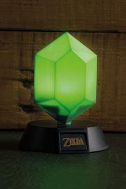 Legend of Zelda: 3D Light Green Rupee 10 cm