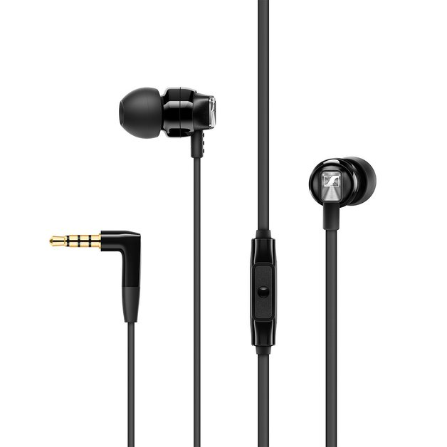 Sennheiser CX 300S Wired In-Ear Headphones with Mic - Black