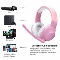 SADES Spirits Universal Gaming Headset (Pink) for