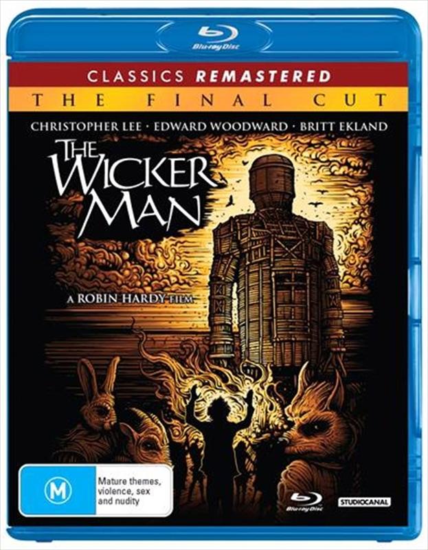 The Wicker Man: Final Cut (1973 Re-Release) on Blu-ray