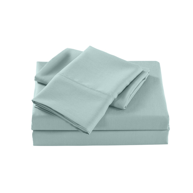Royal Comfort: Bamboo Cooling 2000TC Sheet Set - Single (Frost)
