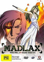 Madlax - Vol. 4: Elda Taluta on DVD