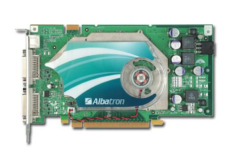 ALBATRON 7950GT 512MB DDR3 PCIE DUAL DVI