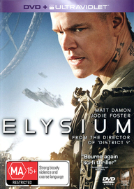 Elysium on DVD