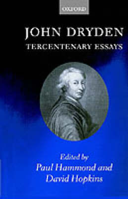 John Dryden: Tercentenary Essays