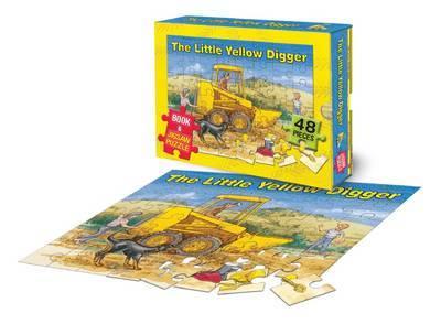 The Little Yellow Digger (Book + Jigsaw) by Betty Gilderdale