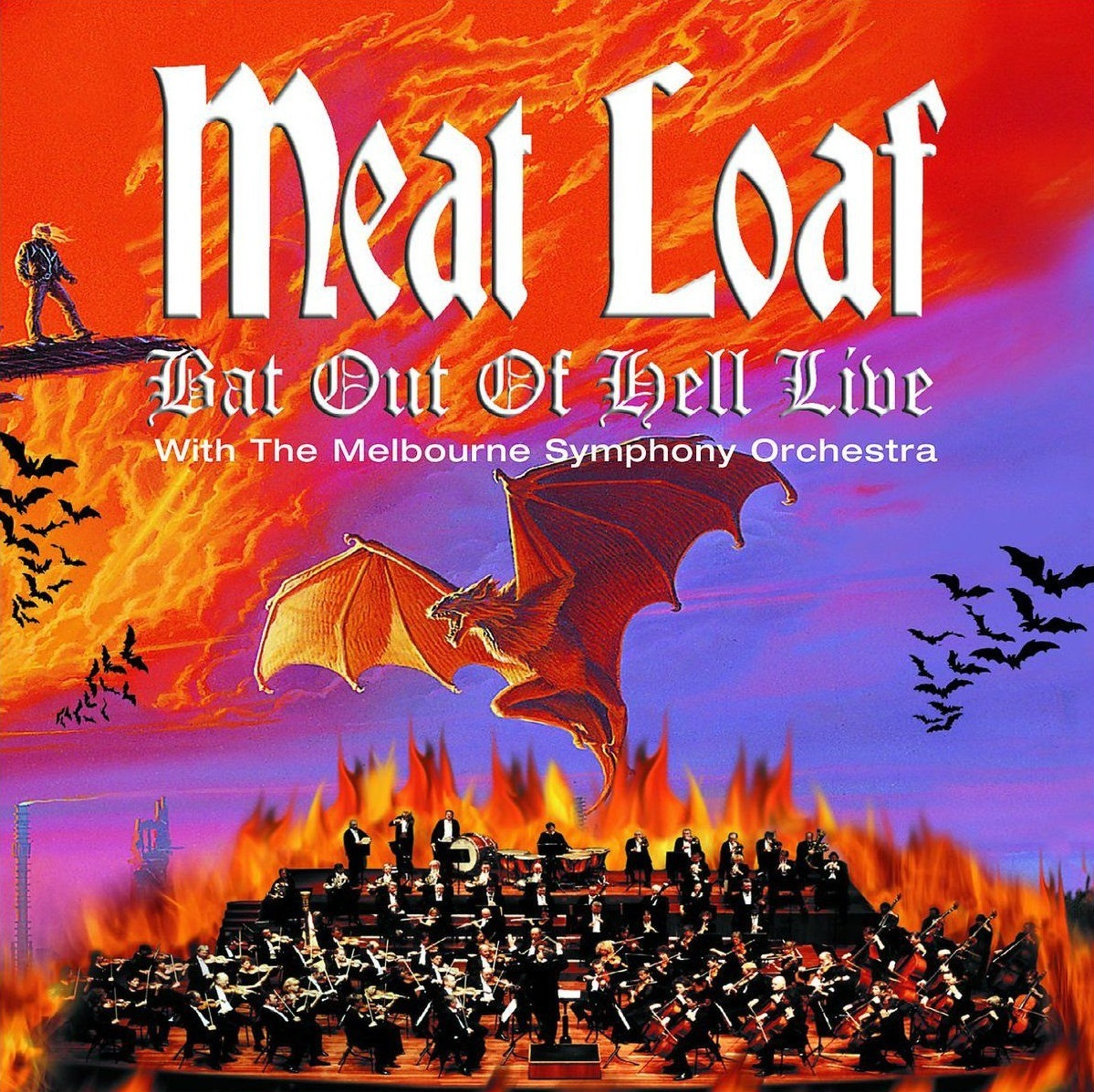 Bat Out Of Hell Live With The Melbourne Symphony Orchestra by Meat Loaf image
