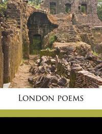 London Poems by Robert Williams Buchanan