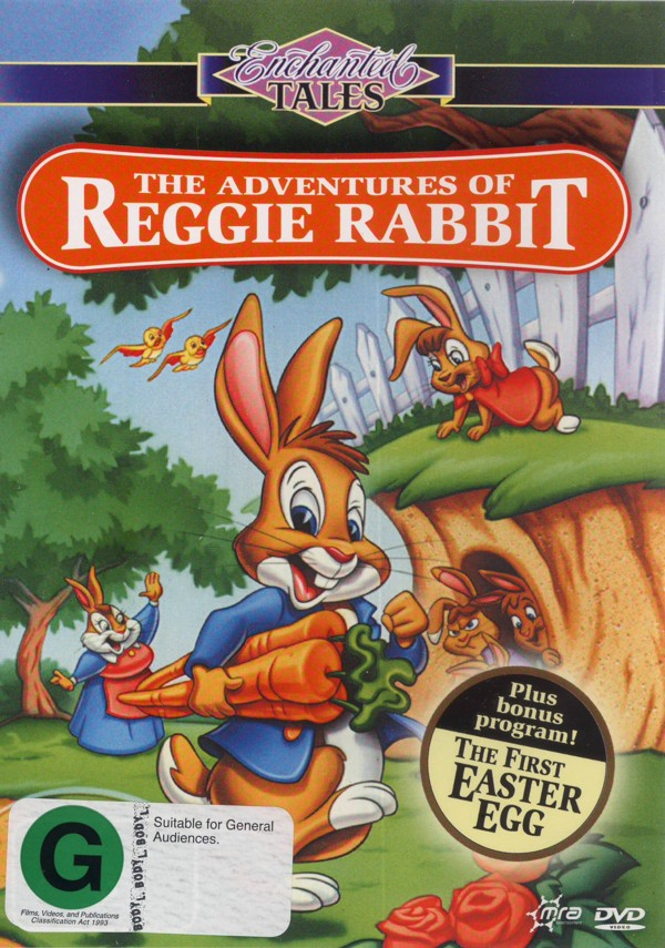 Enchanted Tales - The Adventures Of Reggie Rabbit on DVD image