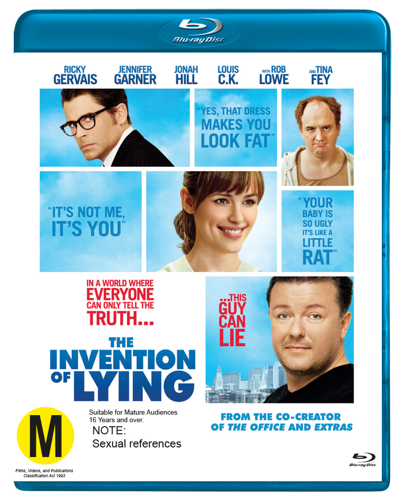 The Invention of Lying on Blu-ray image