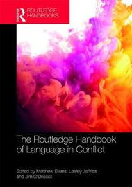 Handbook of Language in Conflict