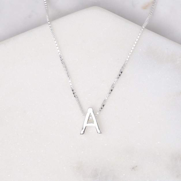 Midsummer Star: Alphabet Necklace - A