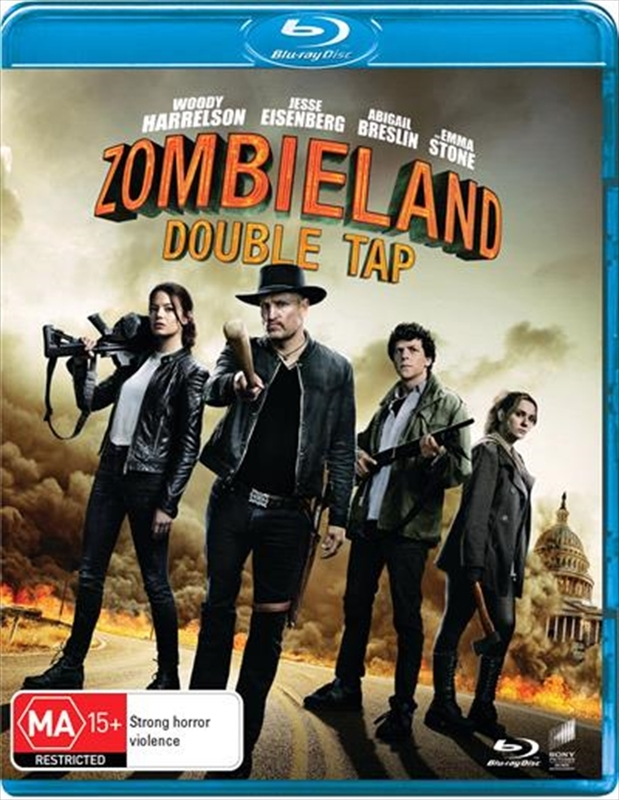 Zombieland: Double Tap on Blu-ray