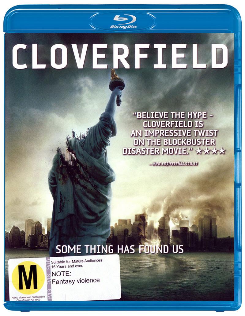 Cloverfield on Blu-ray image