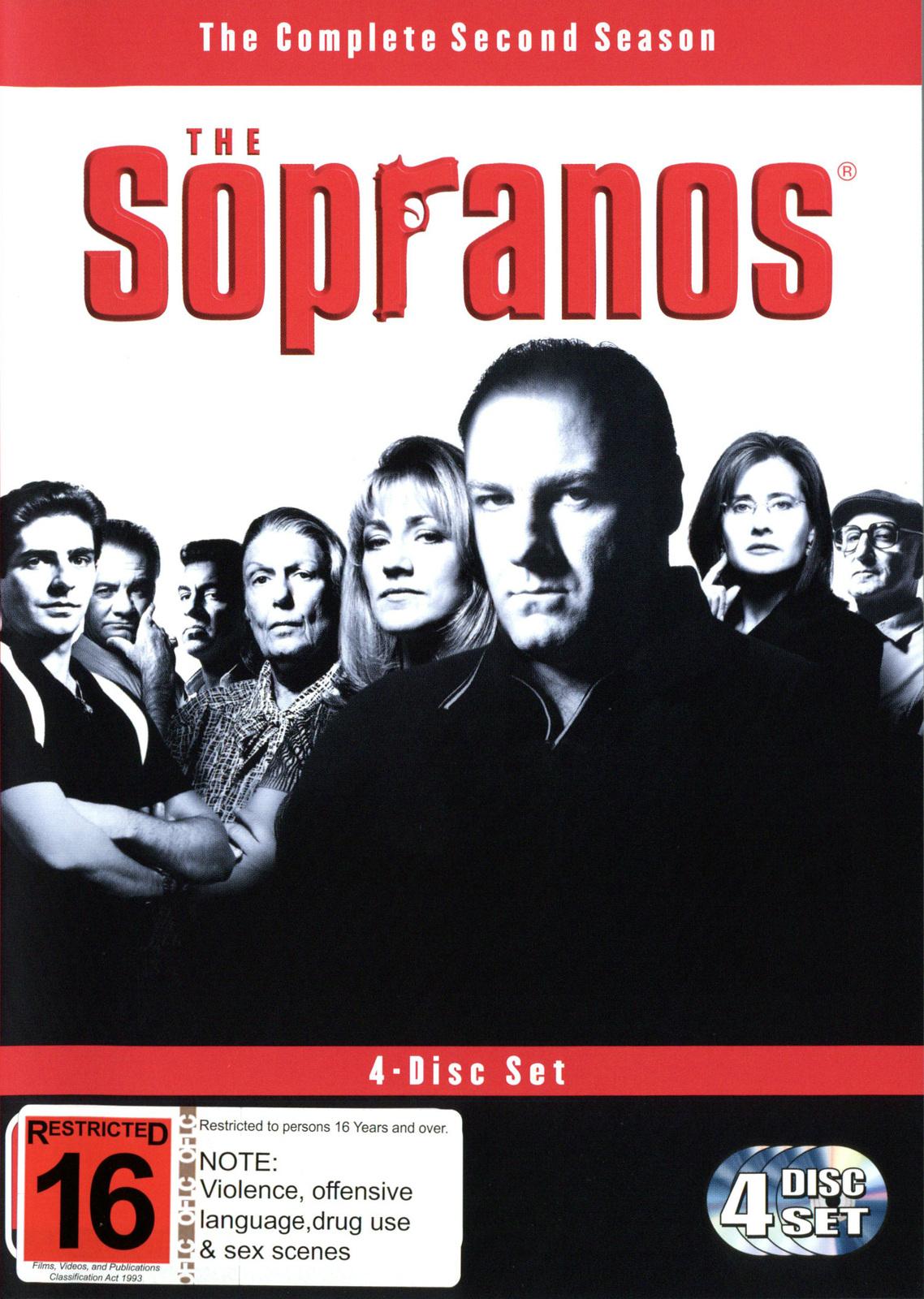 The Sopranos - Season 2 (4 Disc Box Set) on DVD image