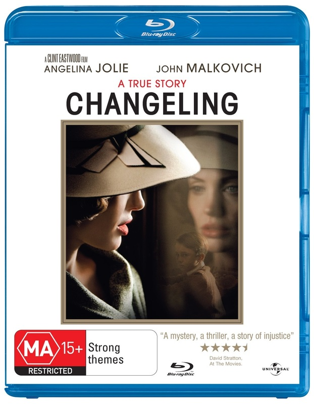 Changeling on Blu-ray